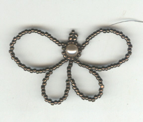 Kelebekli Boncuk Kolye Yapımı